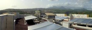 Chauffe eau solaire collectif centralisé pour le CROUS Martinique