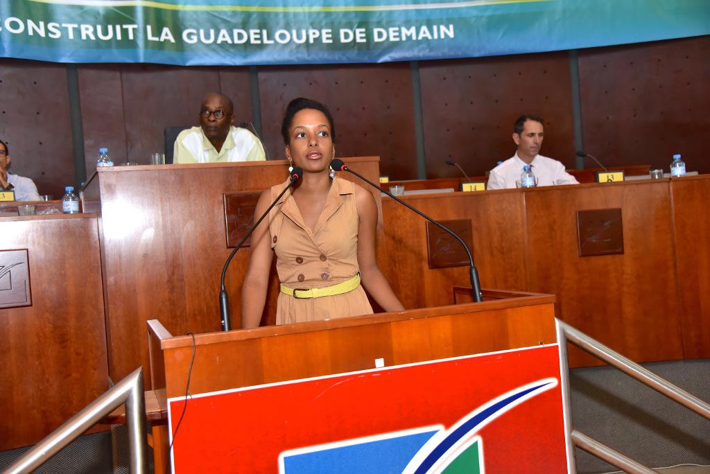 présentation convention performance énergétique organisé par la Région Guadeloupe, EDF Guadeloupe et l'ADEME