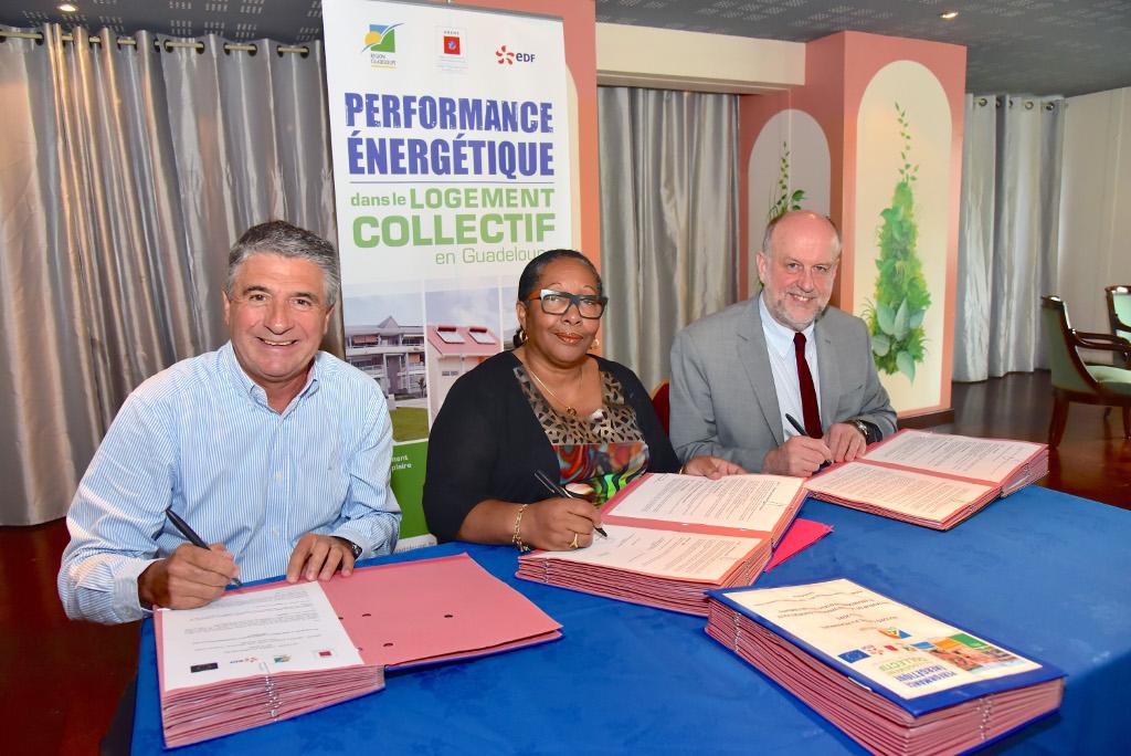performance énergétique en Guadeloupe dans les logements collectifs