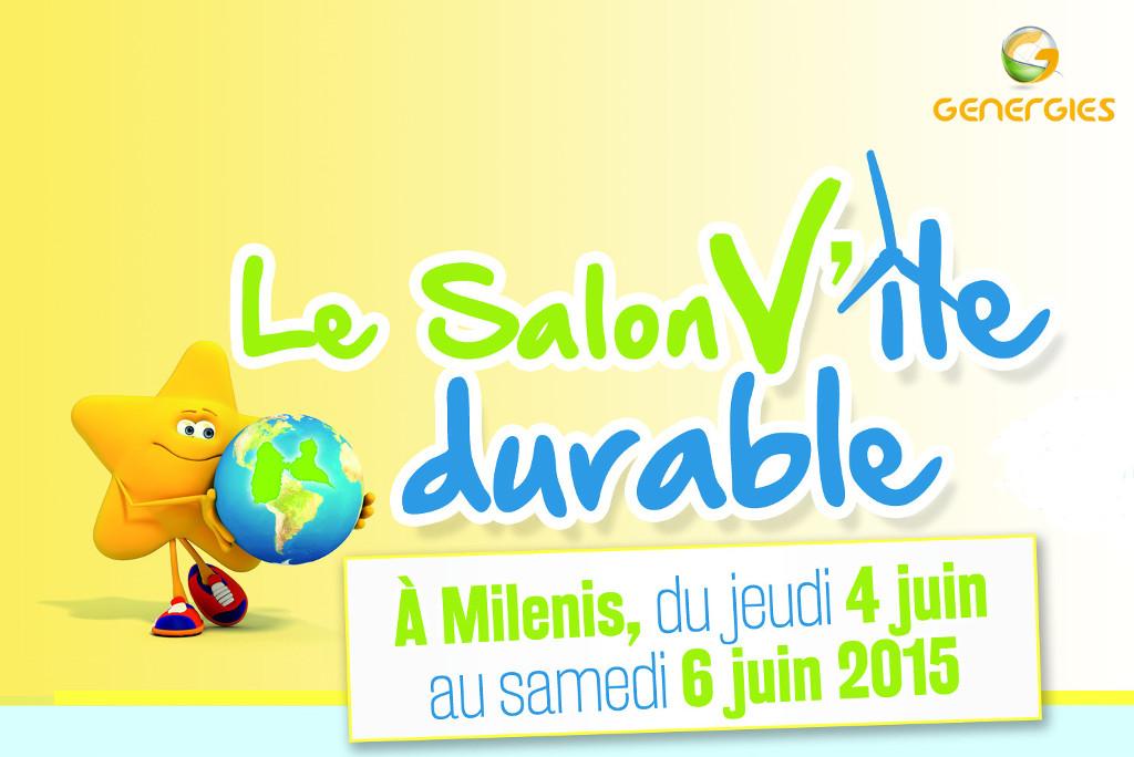 Genergies Guadeloupe présent au salon V'île durable au centre Milénis des Abymes